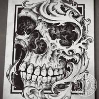 Renaiskull by DeadInsideGraphics