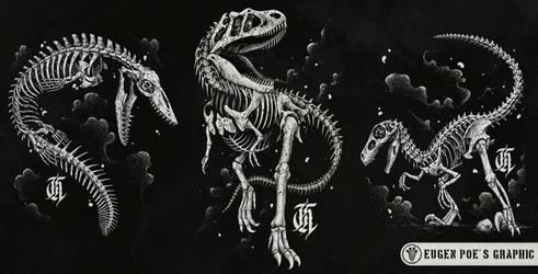 Dinosaurs by DeadInsideGraphics