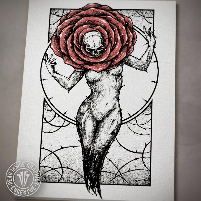 Rose By Deadinsidegraphics On Deviantart