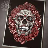 Sugar Skull by DeadInsideGraphics