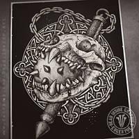 Bear Skull by DeadInsideGraphics
