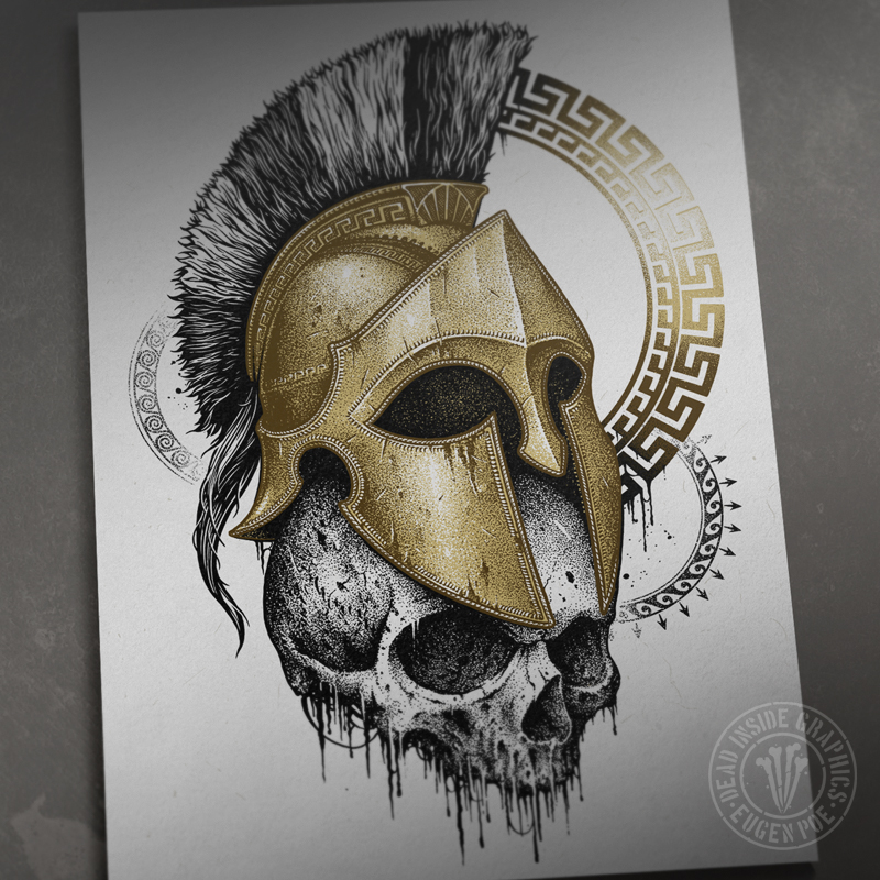 Spartan by DeadInsideGraphics on DeviantArt