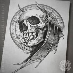 Demon Head by DeadInsideGraphics