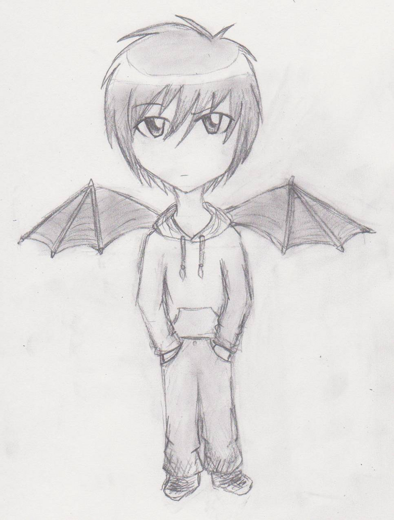 Cute Chibi Boy Drawing Cute Chibi Dragon Drawing of a