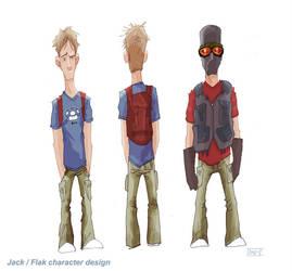 Flak concept art by ka-boom-recruitment