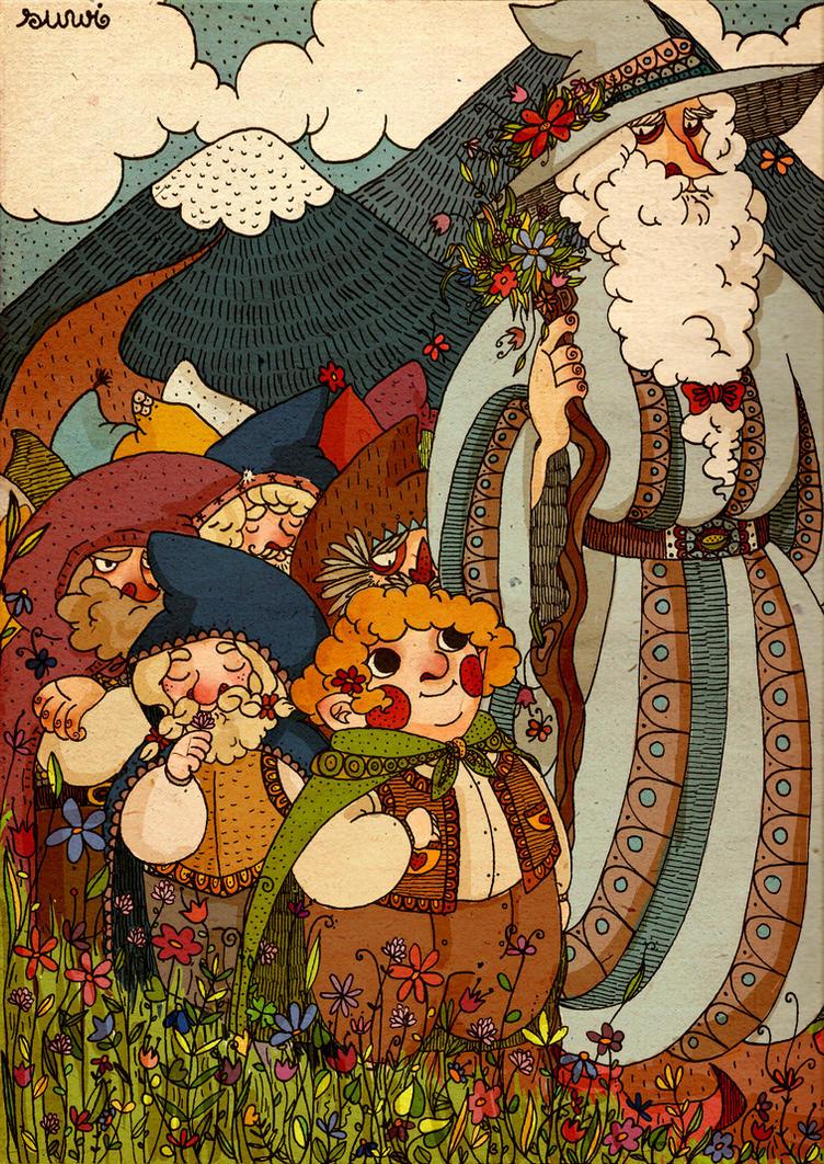 the hobbit by s-u-w-i
