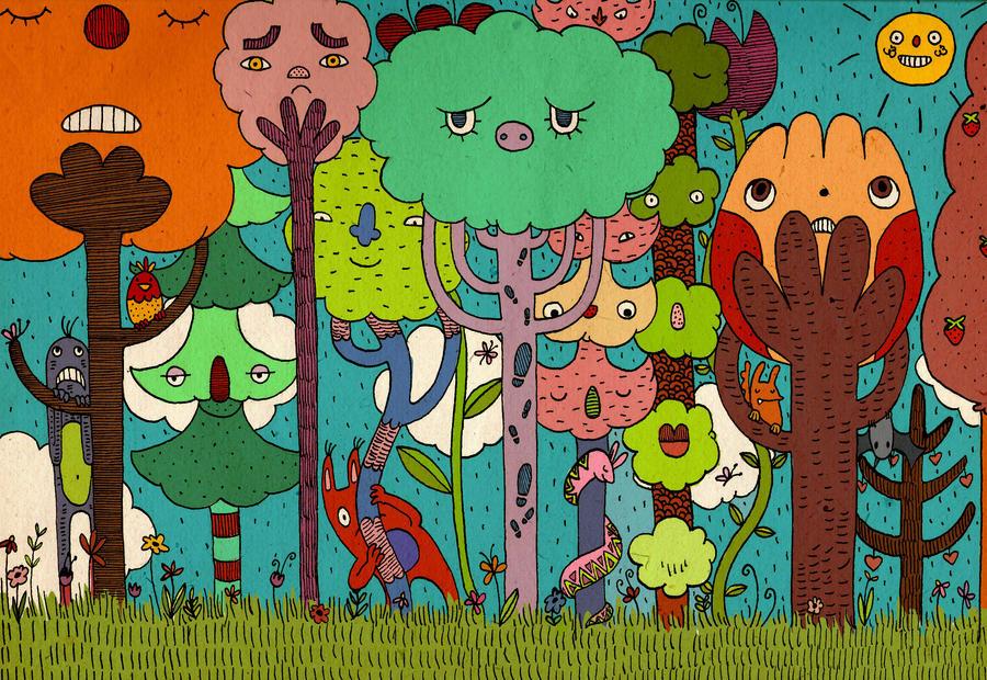 wood by s-u-w-i