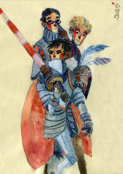 knights by s-u-w-i