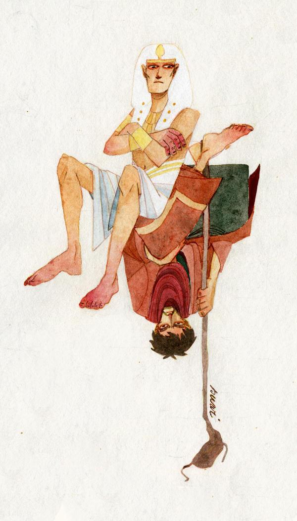 the prince of egypt by s-u-w-i