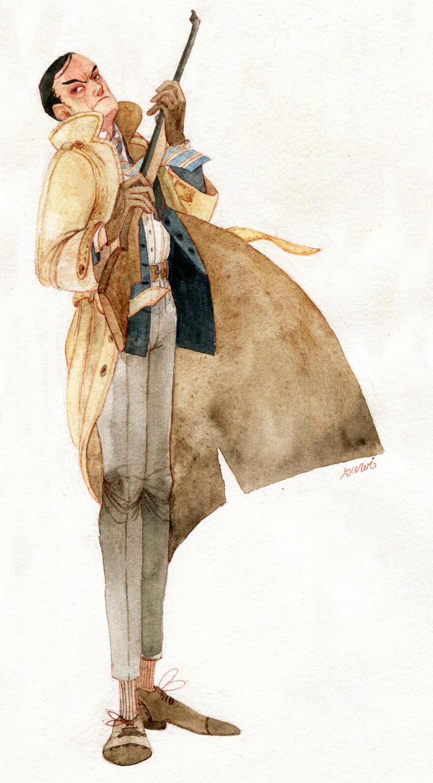 inspector Heinrich Lunge by s-u-w-i