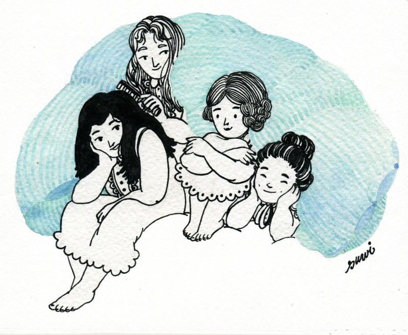 Bennet sisters by s-u-w-i