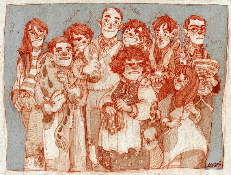 the weasleys by s-u-w-i