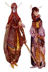 Maedhros and Maglor by s-u-w-i