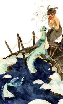 Pan a Morska Panna