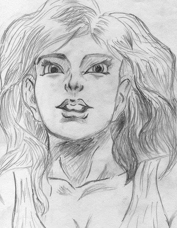 Woman Simple Sketch by razasuperior