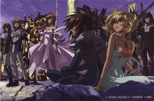 Gundam Seed Destiny Stitch: Wings of Words