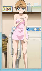 Yamada Stitch: Wearing a Towel by OCTOPUS-SLIME