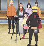 Naruto Stitch: Boruto's Gift to Hiashi