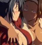Manyuu Hikenchou Stitch: Chifusa and Oiso