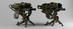 Machine Gun Launcher.