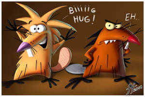 The Angry Beavers by 14-bis