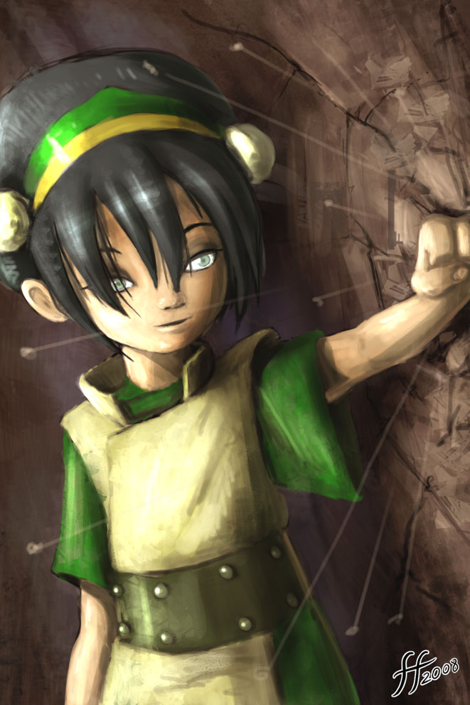 Toph speed painting by 14-bis