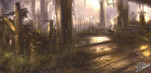 Swamp speed painting