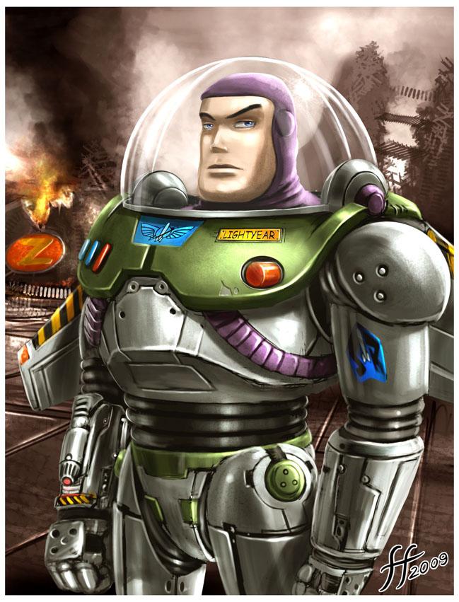 Buzz Lightyear by 14-bis