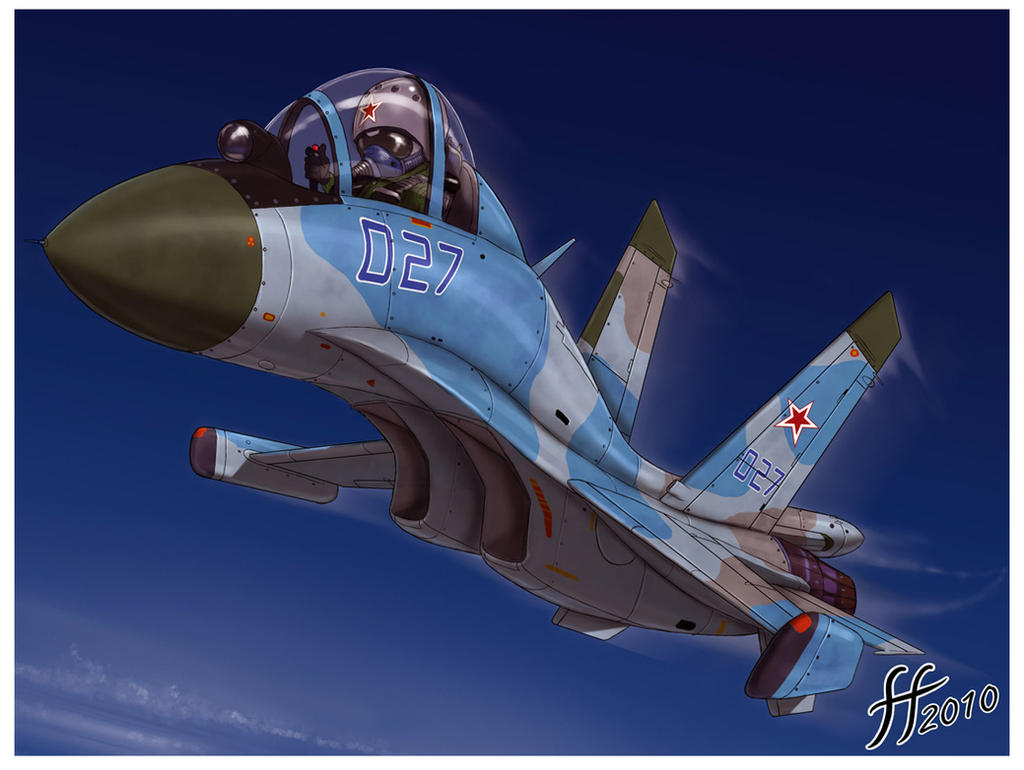 SU-27 SD by 14-bis