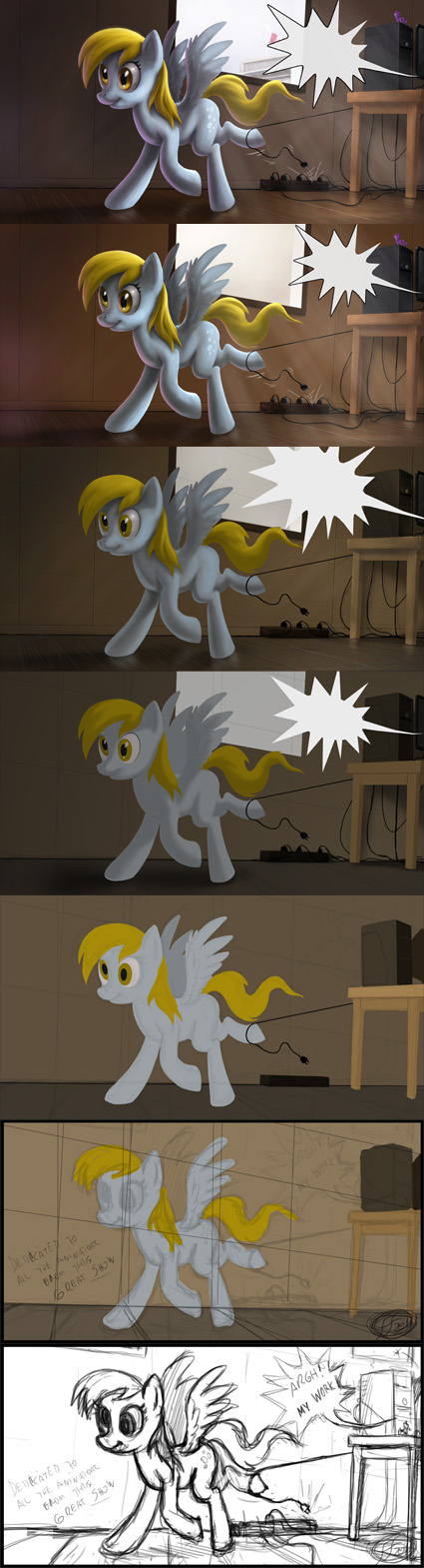 Derpy Work in Progress by 14-bis