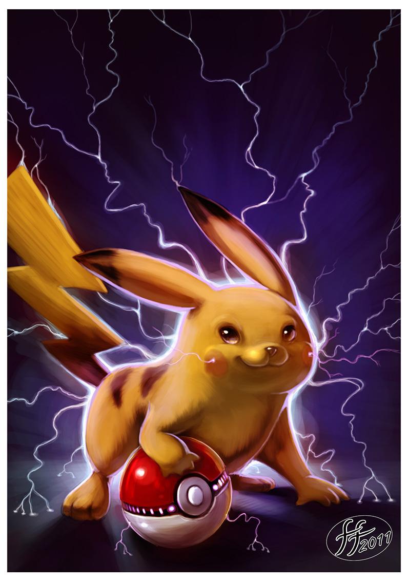 Pikachu by 14-bis