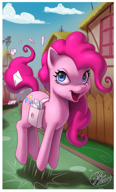 Pinkie Pie by 14-bis