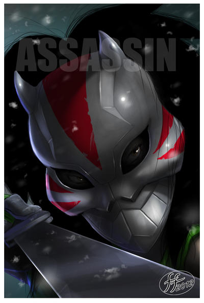 Masks-Assassin by 14-bis