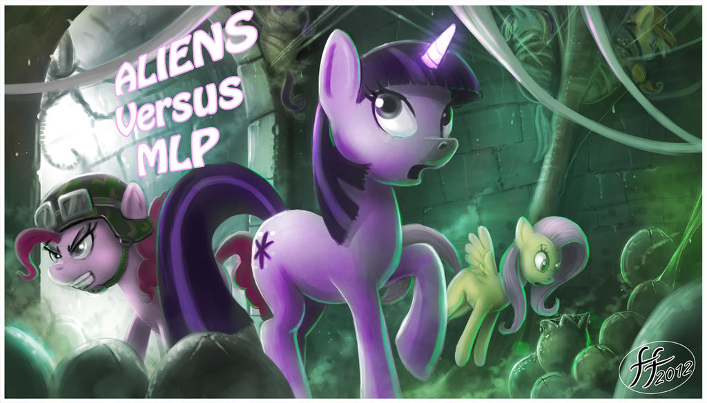 Aliens versus MLP by 14-bis
