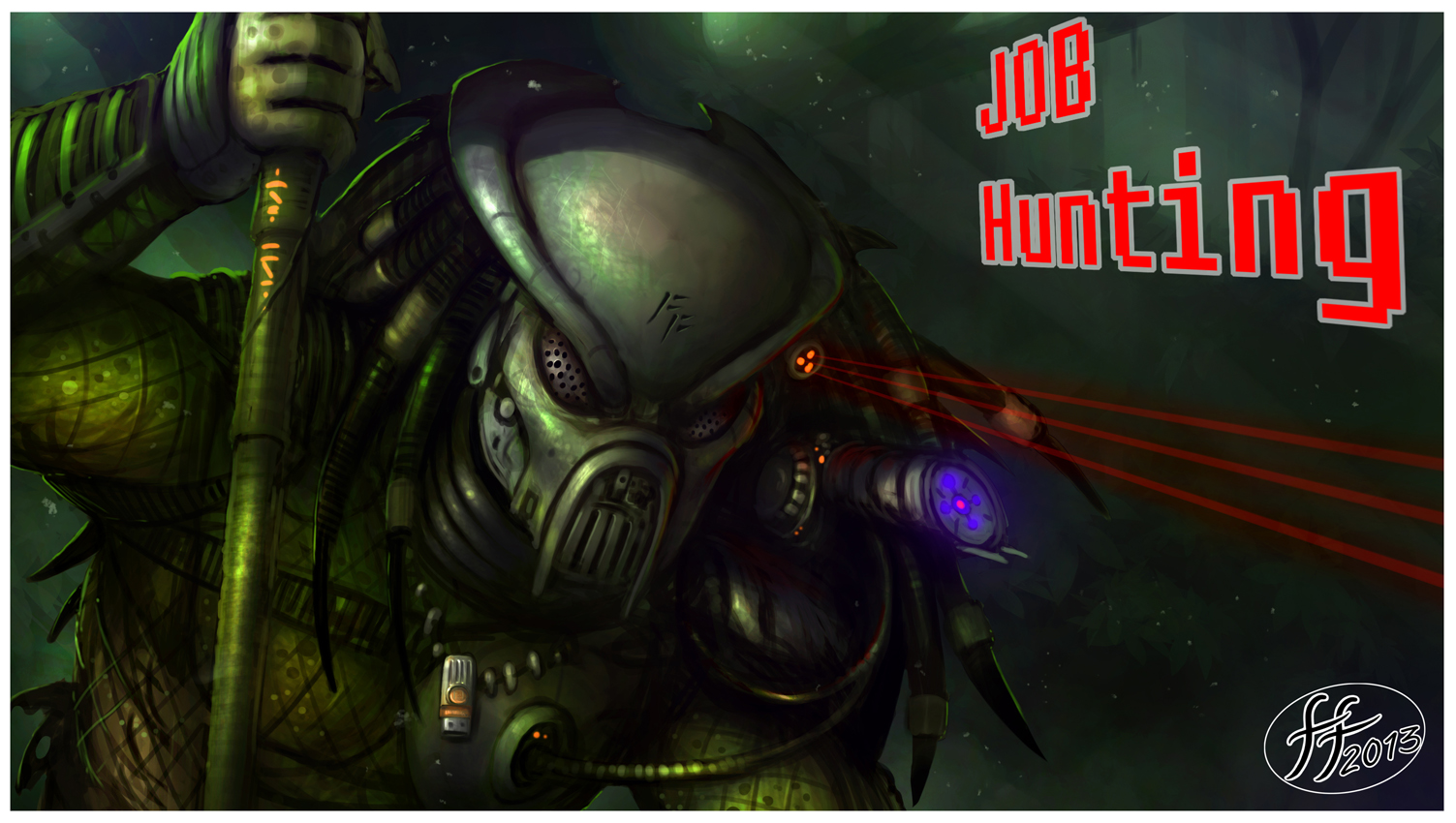 The Hunter by 14-bis