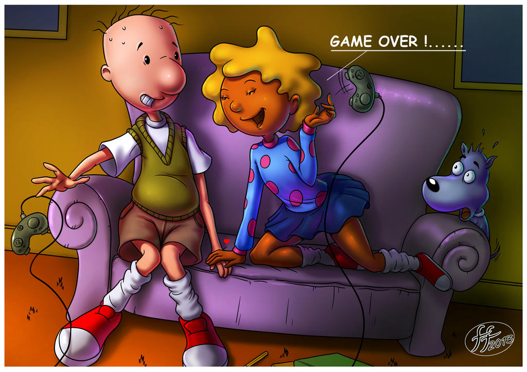 doug and patti by 14bis on deviantart