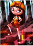 Fireside girl by 14-bis