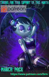 Goth jenny on march  pack by 14-bis