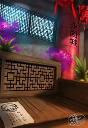 Chinese scene BG