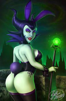 Maleficent bunny