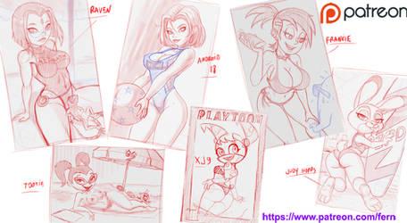 sketches June 21