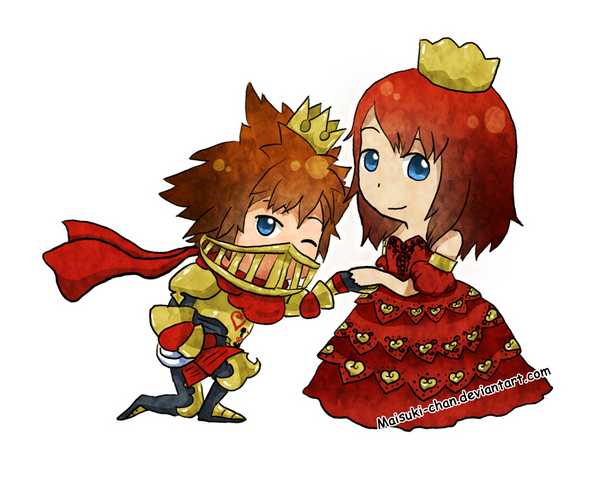 The Knight and His Queen by Maisuki-chan