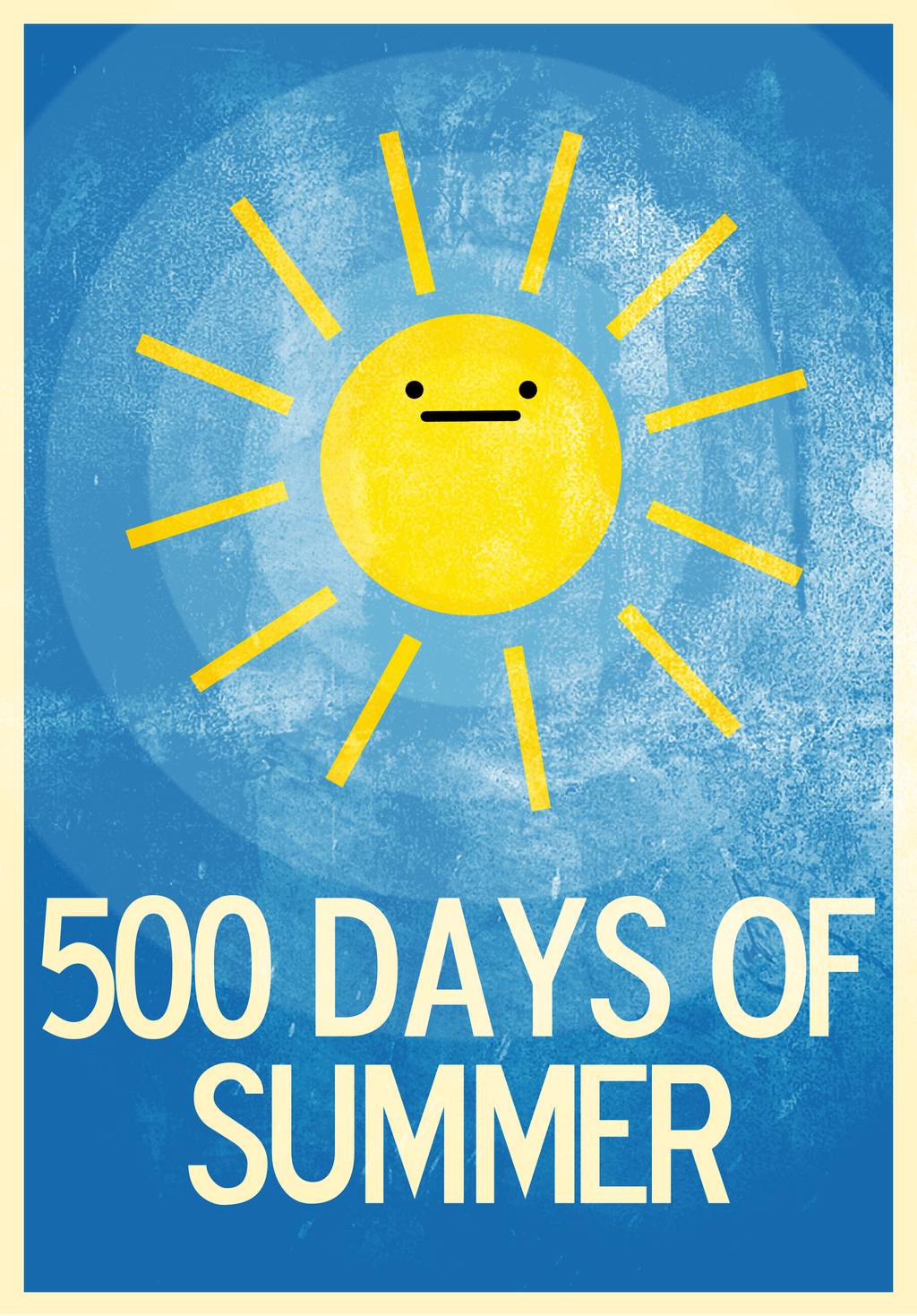 500 Days of Summer Poster by jxtutorials on DeviantArt