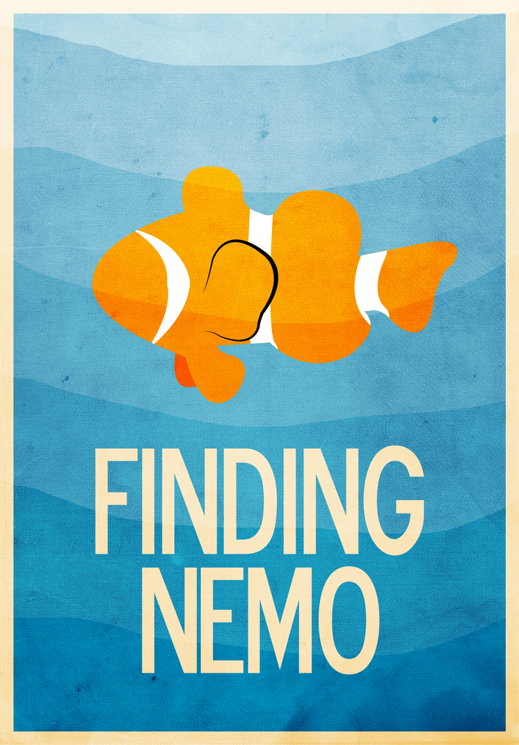 Finding nemo movie poster by jxtutorials on deviantart finding nemo movie poster by jxtutorials thecheapjerseys Images