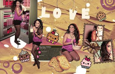 Vanessa Hudgens by mj-editions