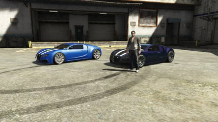 The Wolf and Panther Bugatti's