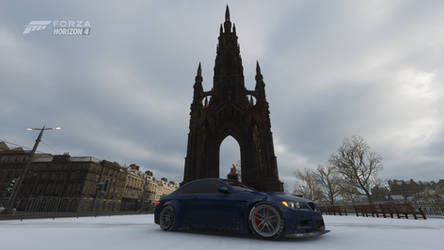Welcome to Edinburgh - Scott Monument