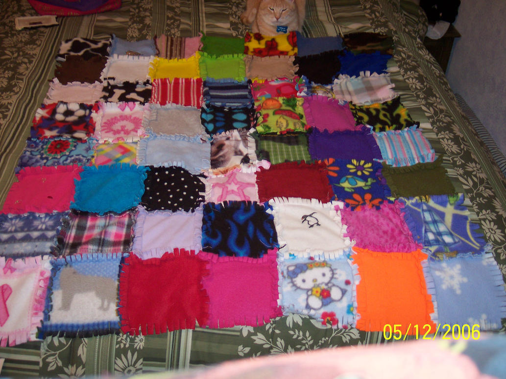 Patchwork Rag Quilt Year 2 by chibishinigami on DeviantArt : patchwork rag quilt - Adamdwight.com