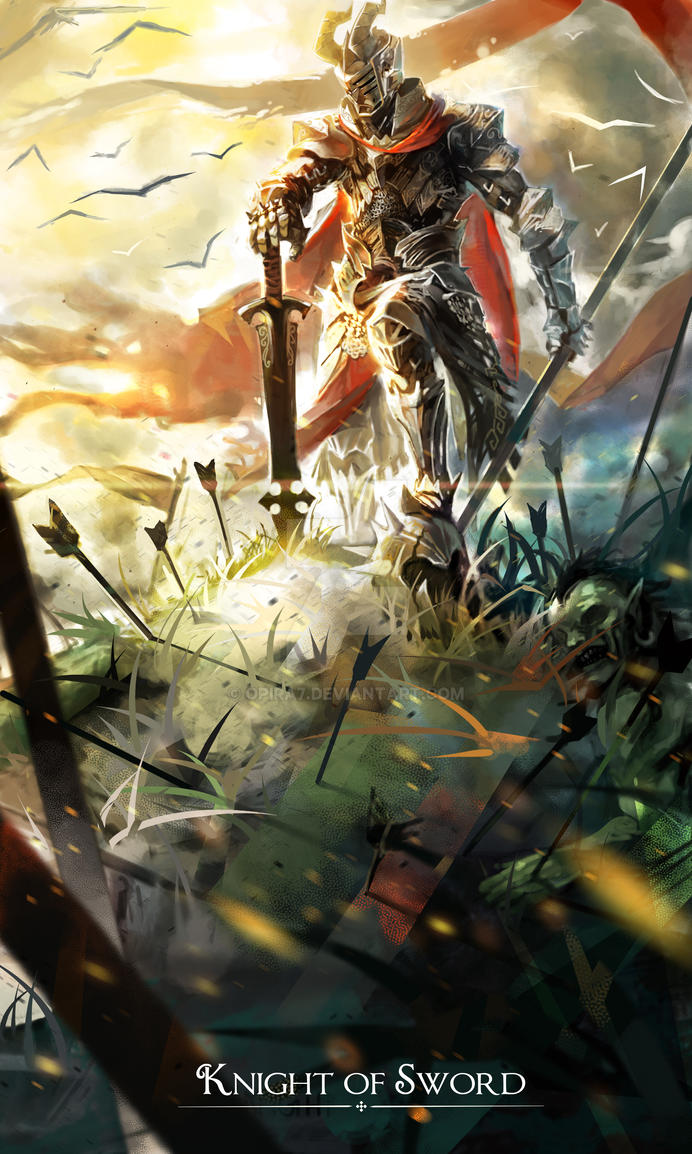 Knight of Sword by Opira7