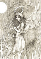 Forest Daughter by Indigo-Summers